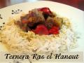 Ternera en salsa Ras al Hanout